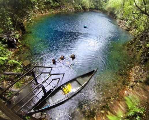 Lagoa Misteriosa (Flutuação) – Bonito ms