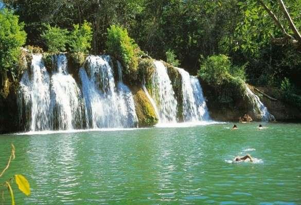 Passeio no Parque das Cachoeiras