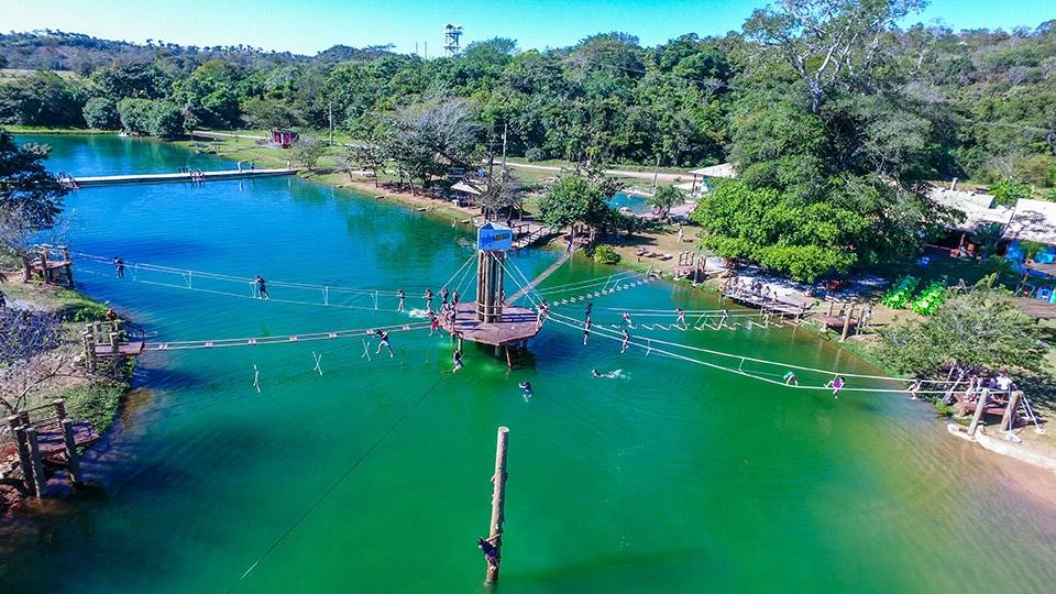 Balneário Nascente Azul - Adventure Bonito MS