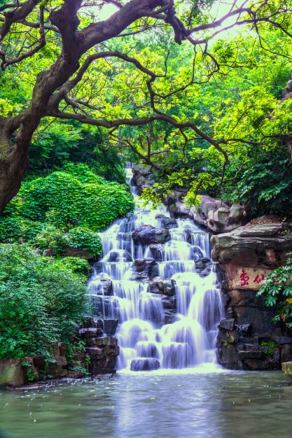 cachoeira natural bonita 1127 284