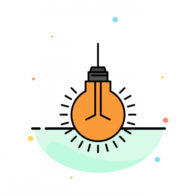pngtree light bulb idea tips suggestion abstract flat color icon tem png image 1699366